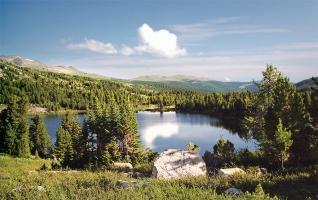 Отдых в Горном Алтае летом